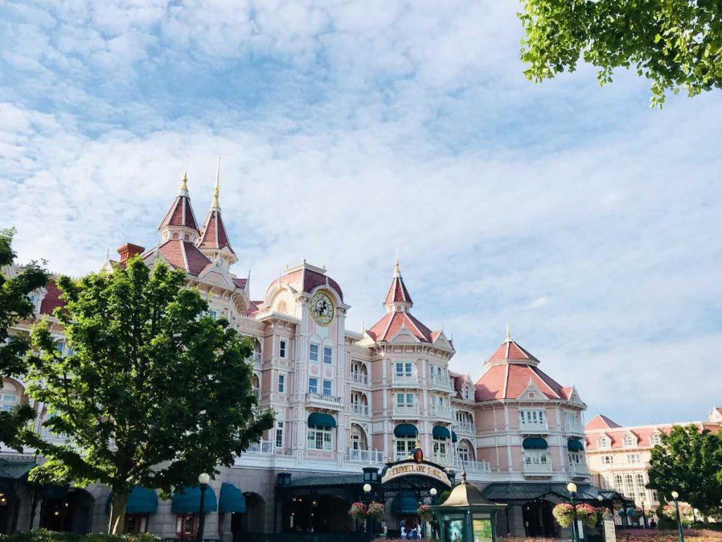 Disneyland Paris Park Entrance