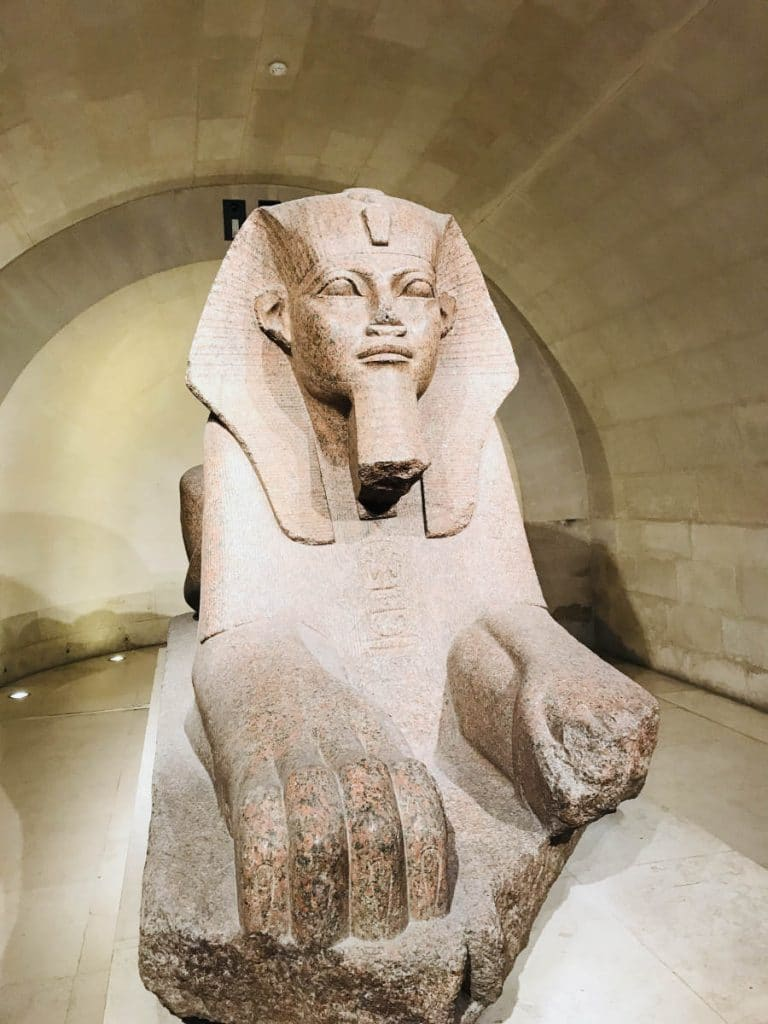 Great Sphinx of Tanis (Sully Wing, Level -1)