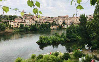 Visiting Albi in Occitanie, France