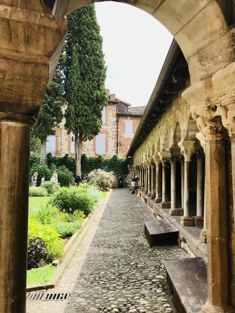 Cloister Gallery of Saint Salvi monastery