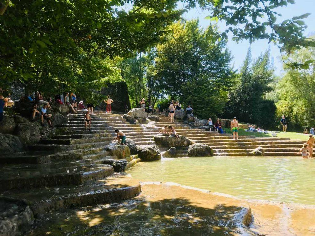 Fountain at Pont-en-Royans