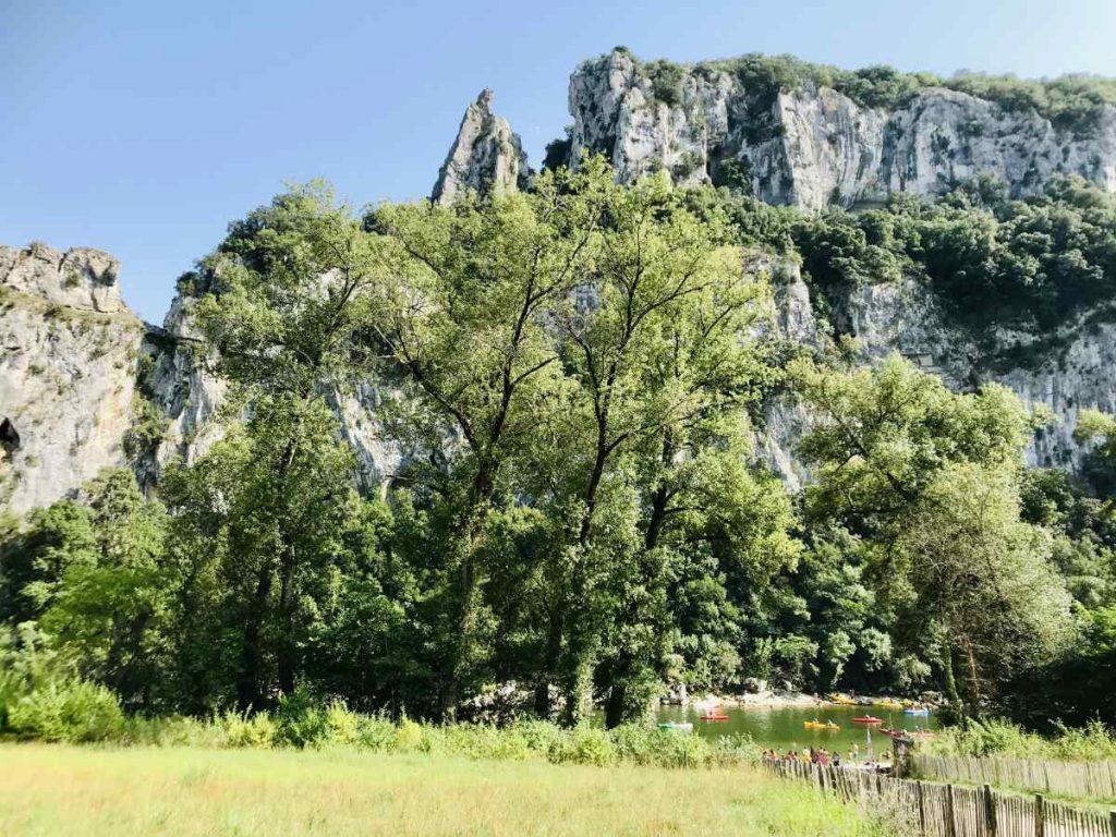 Forests around Ardeche