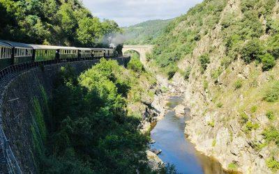 Riding the Tourist Train de l'Ardèche (France)