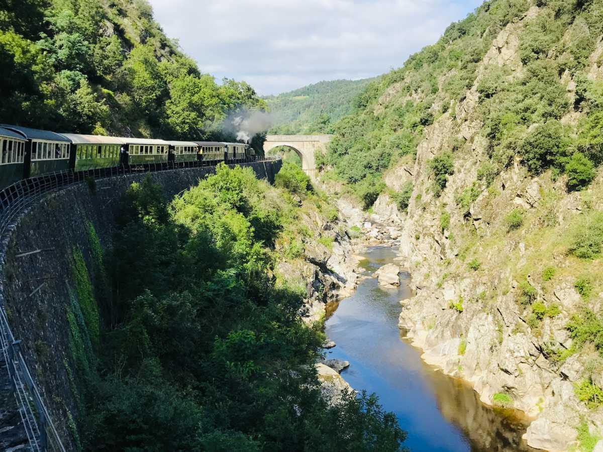 Read more about the article Riding the Tourist Train de l'Ardèche (France)