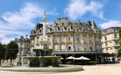 Visiting the other Valence (in Drôme, France)