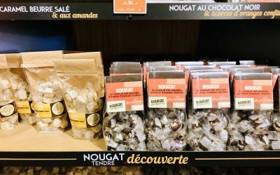Eating Nougat in Montélimar (Drôme)