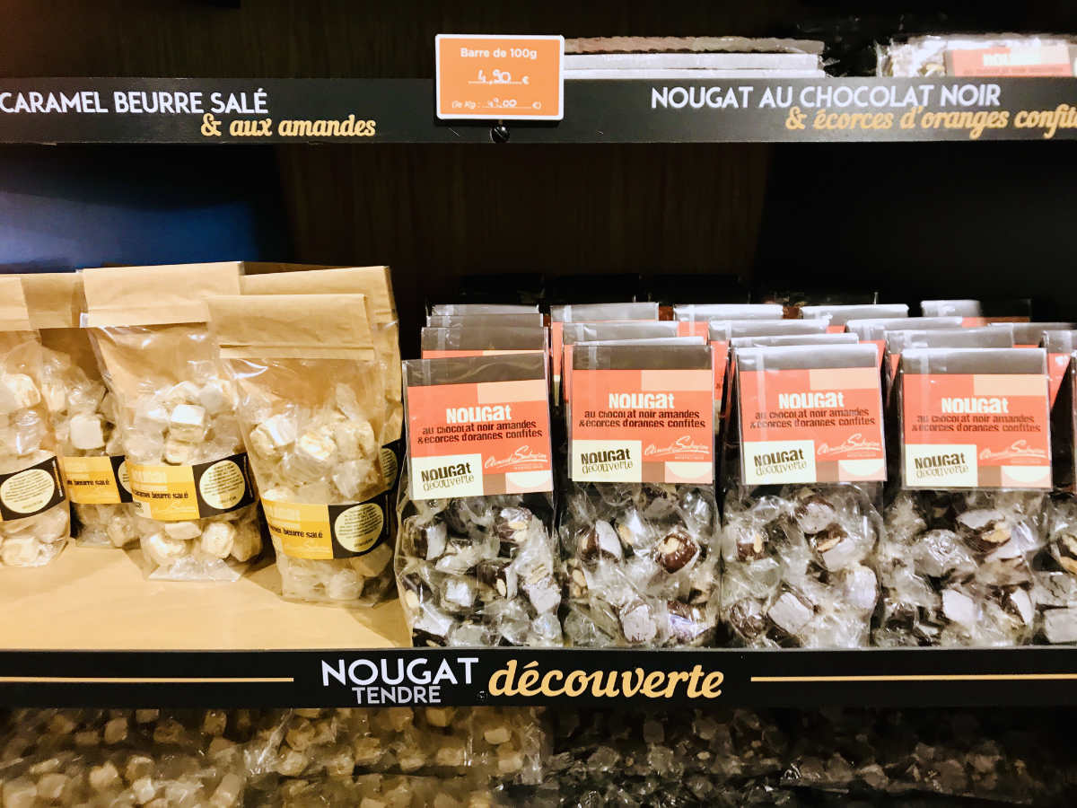 You are currently viewing Eating Nougat in Montélimar (Drôme)