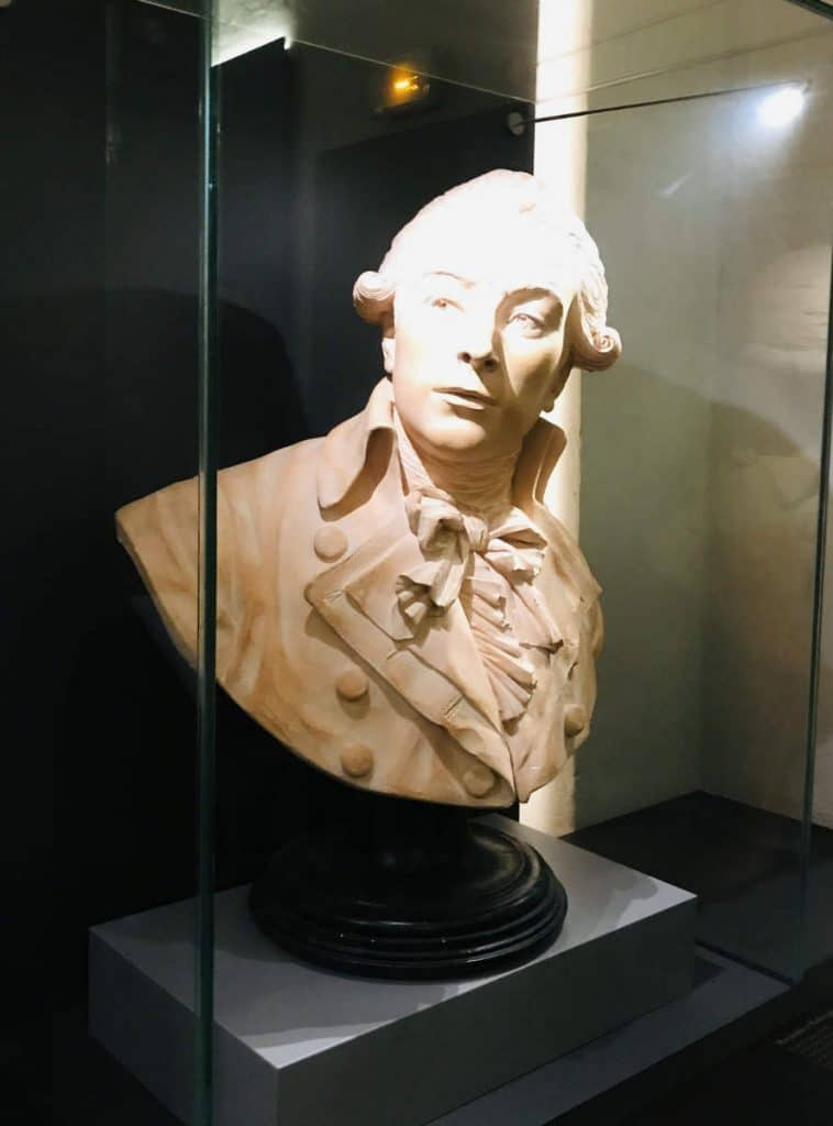 Bust of Robespierre at the Conciergerie