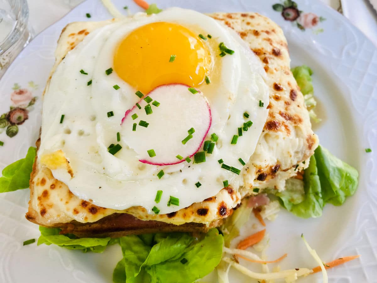 Read more about the article Croque Madame Sandwich Recipe