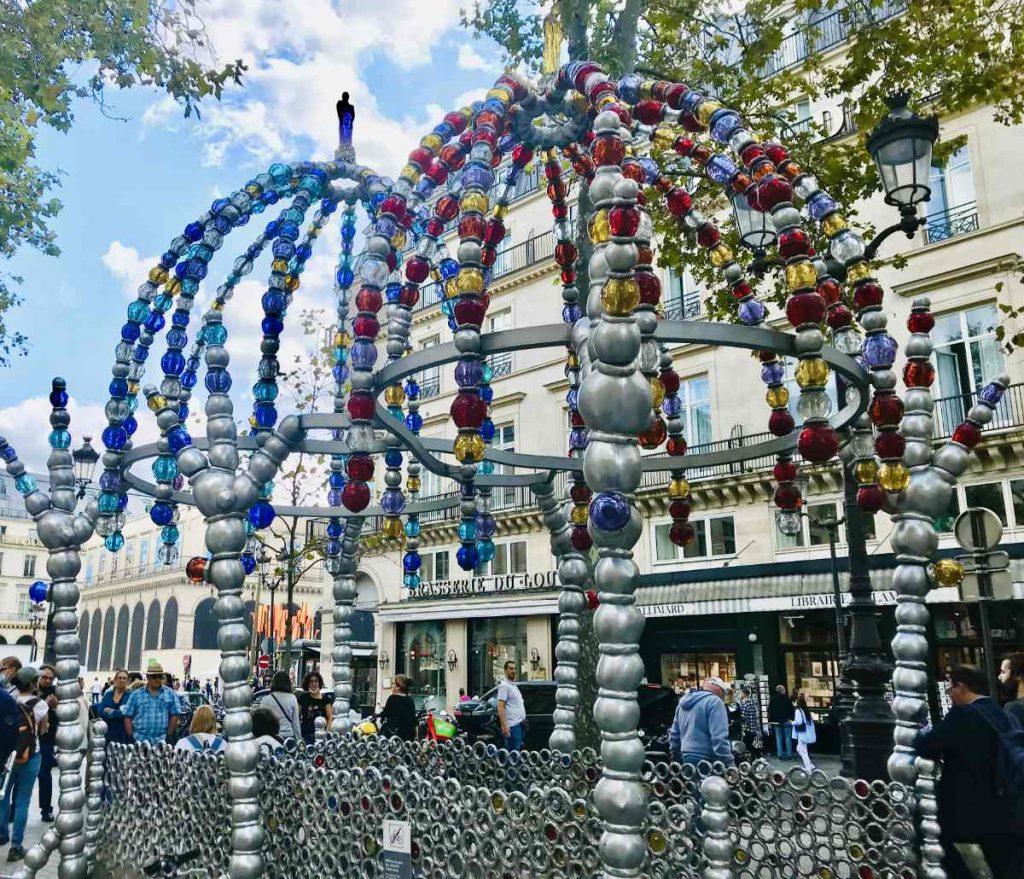 Palais Royal metro entrance
