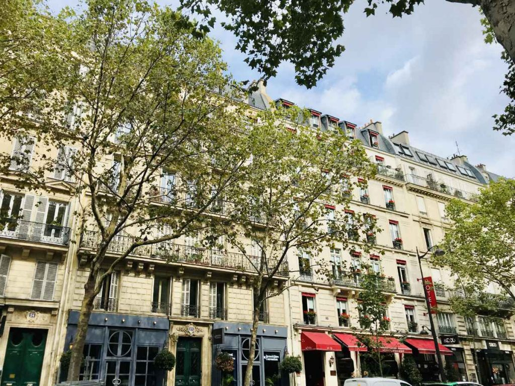 Parisian architecture in Hausmannien style