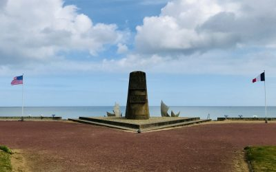 Visiting Omaha Beach in Normandy