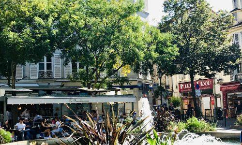 Place Contrescape near Rue Mouffetard