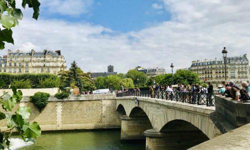 Paris Bridge Seine
